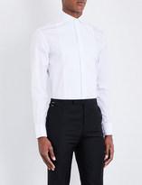 Armani Collezioni Regular-fit double-cuff cotton shirt