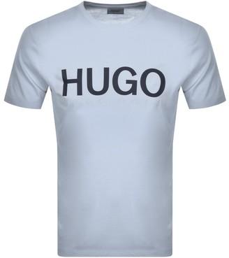 HUGO BOSS Dolive T Shirt Blue