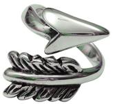 Femme Metale Jewelry Wrap Arrow Ring