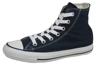 Converse Unisex-Adult Chuck Taylor All Star Hi-Top Trainers Navy/White- 9 UK