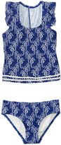 Hula Star Girls' Chatty Seahorse Tankini Two Piece Set (2yrs6yrs) - 8138125