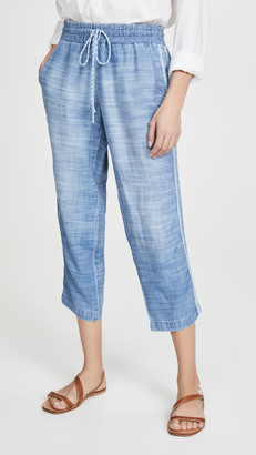 Bella Dahl Pull on Chambray Pants