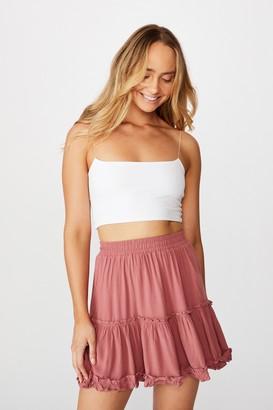 Supre Delilah Tiered Mini Skirt