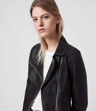 AllSaints Vela Leather Biker Jacket
