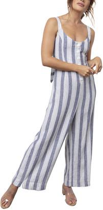 Rails Teresa Linen-Blend Jumpsuit
