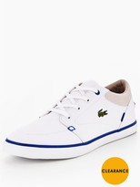 Lacoste Bayliss 117 1 Plimsoll - White
