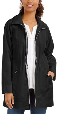 Style&Co. Style & Co Packable Hooded Anorak Jacket, Created for Macy's
