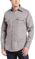 Wrangler Men's Flame Resistant Lightweight Work Shirt