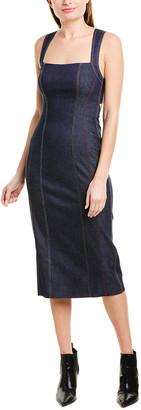 Prabal Gurung Denim Sheath Dress