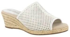 Easy Street Shoes Mandy Espadrille Slide Sandals Women's Shoes