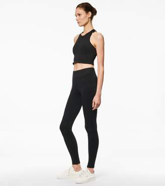 Ponte Chevron Seamed Long Legging