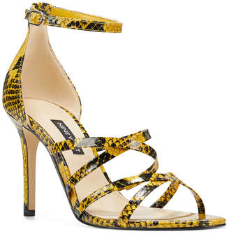 Nine West Malina Strappy Sandals Women Shoes
