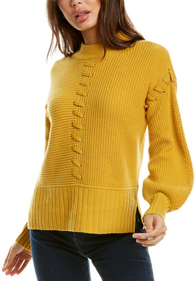 Design History Whipstitch Cashmere Sweater
