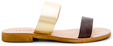Cocobelle Leather Slide Sandal