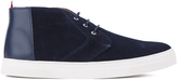 Oliver Spencer Beat Chukka Boots Navy Suede