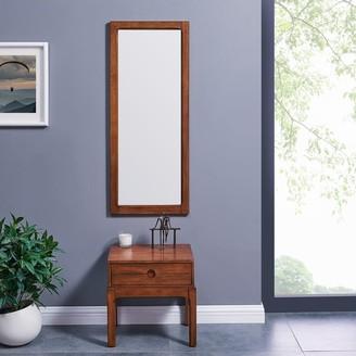 Harper Blvd Mittlam Entryway Mirror and Storage Accent Table