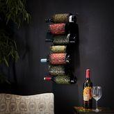 Grazia 7-bottle wall-mount wine rack