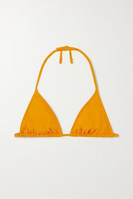 Eres Les Essentiels Mouna Triangle Bikini Top - Saffron