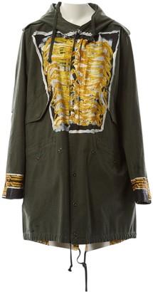 Faith Connexion Khaki Cotton Coats