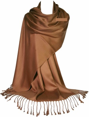 GFM Ultra Smooth Cashmere Feel Soft Pashmina Style Wrap Scarf (L9-160-J-GLB-1)