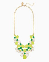 Charming charlie Petal Pop Bib Necklace Only 2 left Name Qty Petal Pop Bib Necklace 2 // Only 2 left in Light Green!