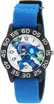 Disney Boy's 'Miles from Tommowland' Quartz Plastic and Nylon Automatic Watch, Color: (Model: W003058)