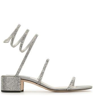 Rene Caovilla Cleo Strass 40mm sandals