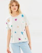 Maison Scotch Star Printed T-Shirt