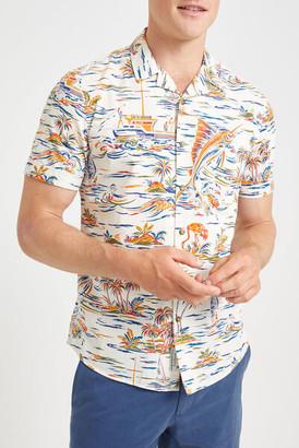 Sportscraft Argo Short Sleeve Print Shirt