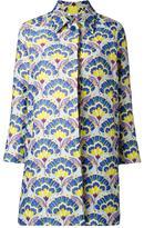 P.A.R.O.S.H. Polline floral coat - women - Polyester/Polyamide - XS
