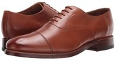Bostonian Rhodes Cap (Tan Leather) Men's Shoes