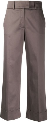 Peserico Straight Leg Cropped Trousers