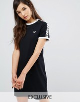 Fred Perry Archive Taped Ringer T-Shirt Dress