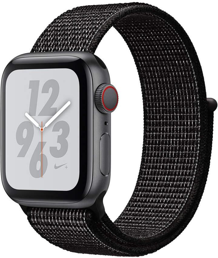 Apple Watch Nike+ Series 4 Gps + Cellular, 40mm Space Gray Aluminum Case with Black Nike Sport Loop