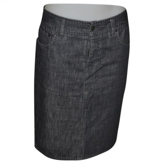 Gucci Anthracite Denim - Jeans Skirts