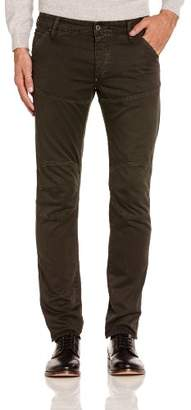 G Star G-Star Men's Tapered Trousers - Green - W42