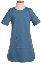 Tucker + Tate Toddler Girl's Denim Shift Dress