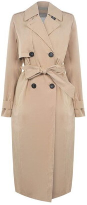 Selected Double Breasted Trench Coat Ladies
