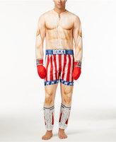 Briefly Stated Men's Rocky Balboa One-Piece Pajamas