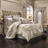 Thumbnail for your product : J Queen New York Bel Air King Comforter Set in Sand