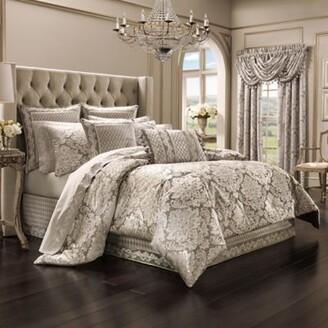 J Queen New York Bel Air King Comforter Set in Sand