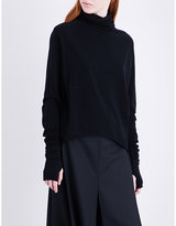 Isabel Benenato Turtleneck wool-blend jumper