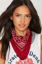 Factory When the Dust Settles Square Bandana - Red