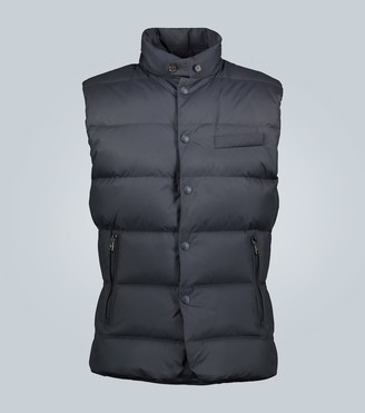 Ralph Lauren Purple Label Whitwell quilted gilet