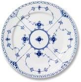 Royal Copenhagen Blue Fluted Half Lace Salad Plate