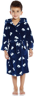Leveret Polar Bear Fleece Sleep Robe (Toddler, Little Kid, & Big Kid)