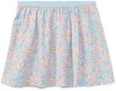 Polo Ralph Lauren Floral-Print Cotton Skirt, Toddler Girls