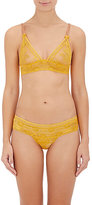 "Stella McCartney WOMEN'S ""NAOMI GLIDING\"" SOFT BRA-YELLOW SIZE L"