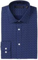 Tommy Hilfiger Leaf Print Slim Fit Dress Shirt