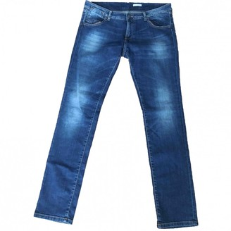 Daniele Alessandrini Blue Cotton - elasthane Jeans for Women